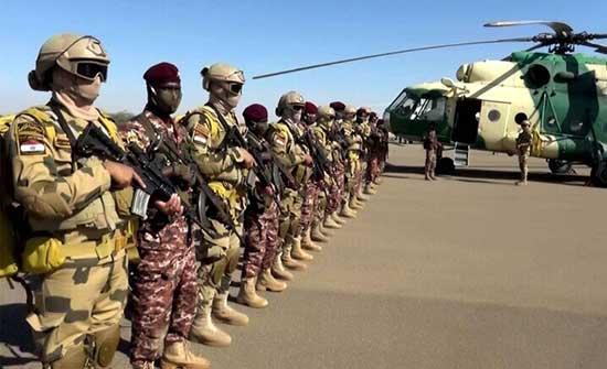القوات المصرية والسودانية تنهي تدريبا لسلاح الجو