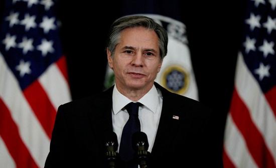 بلينكن : العقوبات على إيران لن ترفع إلا ضمن مسار تفاوضي دبلوماسي