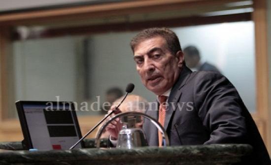 الطراونة: مجلس النواب يرفض كل تصريحات الاحتلال