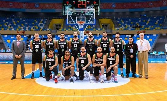 المنتخب الفلسطيني لكرة السلة يبدأ تدريباته في عمان