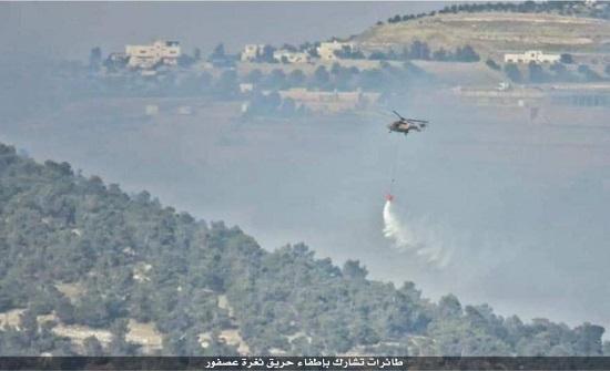 6190 حريقا أتى على آلاف الدونمات ومئات الأشجار خلال أيار