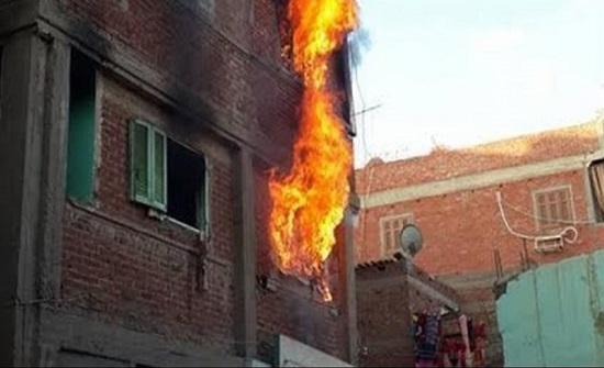 مصر : شاب يشعل النار في والدته وزوجته وبناته الثلاث