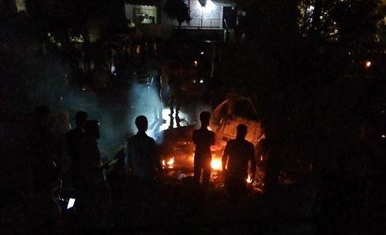 انفجار سيارة مفخخة بعفرين السورية