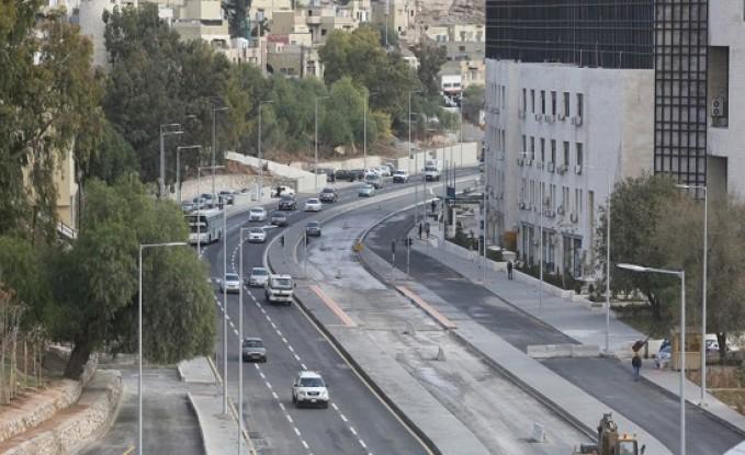 فتح شارع عمر مطر أمام الحركة المرورية