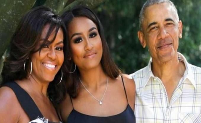 """ظهور صادم لابنة أوباما على """"تيك توك"""" بالفاظ غير مقبولة.. وحذفت الفيديو لاحقا"""