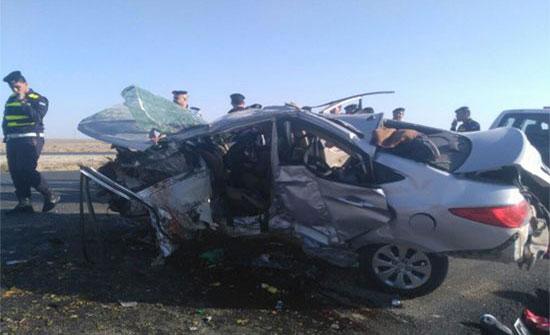 الكرك : وفاة شخص وإصابة ثلاثة آخرين اثر حادث تدهور