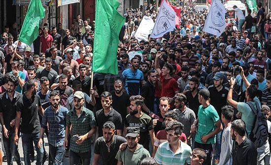 تشييع جثامين 3 شهداء قتلهم الجيش الإسرائيلي شمالي غزة