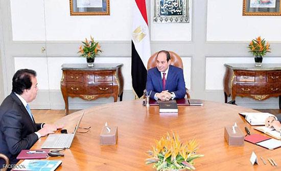 الرئيس المصري يعلن عن مسار جديد للتعليم التكنولوجي