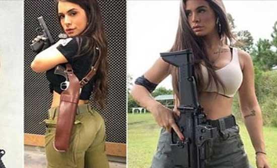 اسرائيلية تعرضت للاغتصاب مرتين تطلب من السيدات حمل الأسلحة النارية (صور)