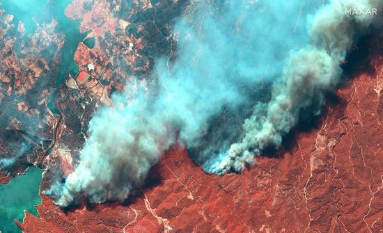 الأردن يعزي بضحايا حرائق الغابات في تركيا