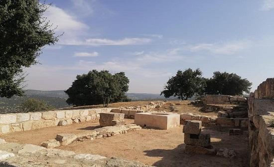 إعادة تأهيل موقع مار الياس الأثري بعجلون