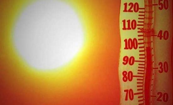 الارصاد :  موجة حارة تؤثر على المملكة اعتباراً من الاثنين