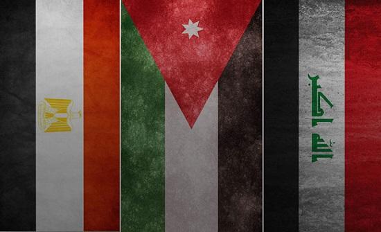 وزراء خارجية الأردن والعراق ومصر يجتمعون في بغداد