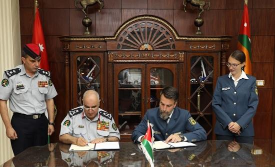 الدفاع المدني يوقع اتفاقية تعاون مع الوكالة الألمانية للإغاثة التقنية