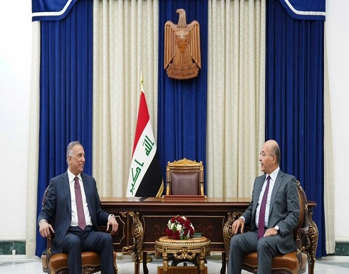 """صالح والكاظمي يعلقان على بيان السيستاني حول الانتخابات ويعتبرانه """"موقفا وطنيا"""""""