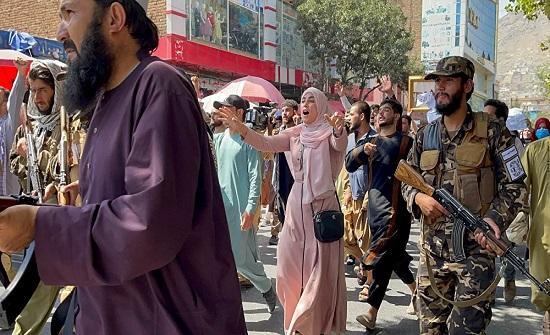 الداخلية الأفغانية تشترط الحصول على ترخيص للتظاهر