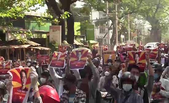 انتقادات دولية لقمع الاحتجاجات.. اتهامات جديدة لمستشارة الدولة السابقة في ميانمار