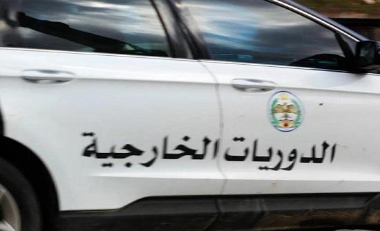 ضبط مخالفة سرعة جنونية على الطريق الصحراوي