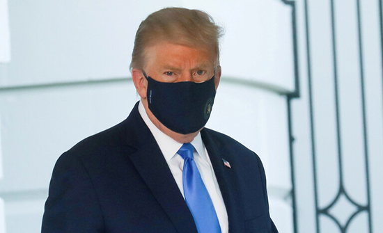 تقرير: ترامب متخوف من الموت وتساءل علنا عما إذا كان كورونا سيقتله