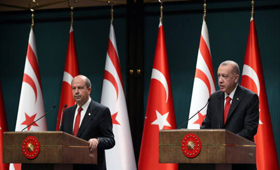 أردوغان: حان الوقت لحل الدولتين في قبرص