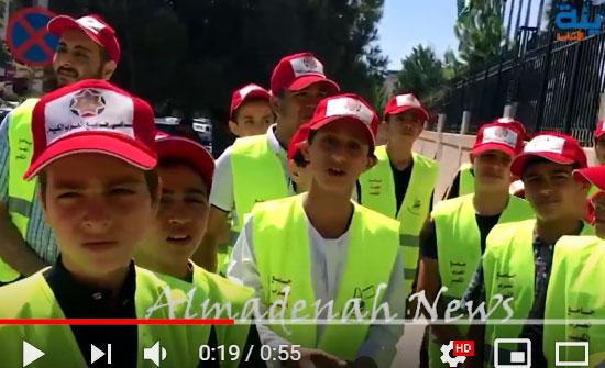 فيديو : وفد طلابي من جامع العرب الكبير يزور مجلس النواب ( لماذا )