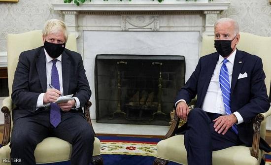 جو بايدن يرفض الالتزام بإبرام اتفاقية تجارة حرة مع بريطانيا