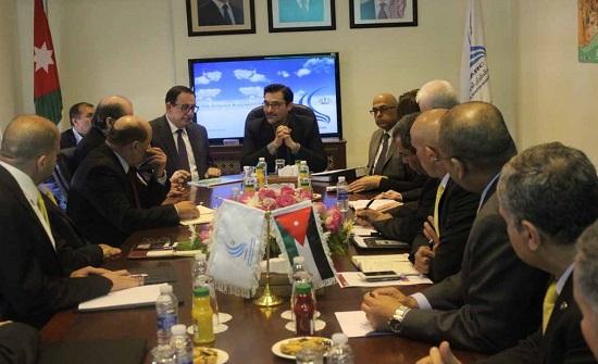 وزير النقل يزور هيئة تنظيم الطيران وشركة المطارات الأردنية