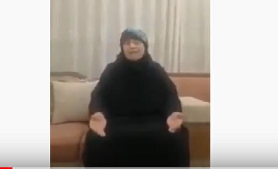 بالفيديو : حاجة رمثاوية تطالب بالافراج عن الموقوفين