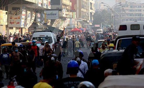 """""""حقوق الإنسان"""" العراقية: قوات الأمن تقتل 9 متظاهرين في 5 أيام"""