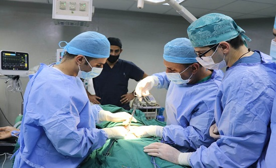 فريق التعزيز الطبي الأردني بغزة يواصل تقديم خدماته الطبية والعلاجية