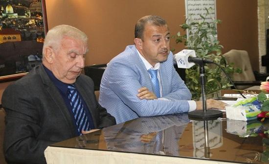 """""""من الحسين الباني إلى عبد الله الثاني"""" محاضرة للحوراني في المركز المجتمعي المسكوني"""