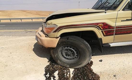 وفاة زوجين اثر حادث تصادم على طريق الازرق