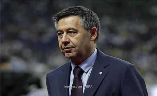 رئيس برشلونة يجس نبض الخليفي لإتمام صفقة نيمار