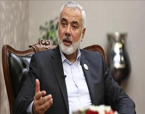 """هنية يستعرض مع رئيس الحرس الثوري الإيراني """"النصر"""" على إسرائيل"""
