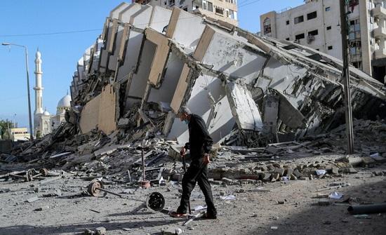 """""""حماس"""" تؤكد لمبعوث بوتين استعدادها لوقف التصعيد ضد إسرائيل على أساس متبادل وبشرط"""