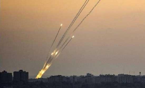 المقاومة تطلق 150 صاروخاً وقذيفة تجاه إسرائيل في الساعات الأربع الأخيرة