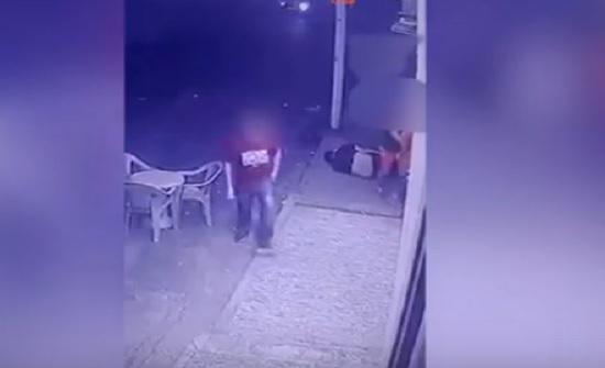 بالفيديو : شاهدوا كيف تم اطلاق النار على مالك ناد ليلي في الصويفية