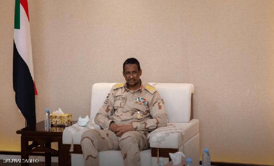 حميدتي يبحث مع المبعوث الأميركي رفع السودان من قائمة الإرهاب