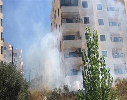 بالفيديو..اصابات بالاختناق خلال اقتحام رام الله