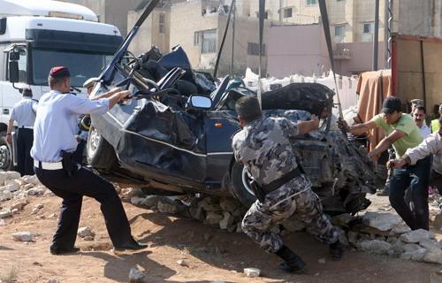 أسماء : الاردن الثالث عربيا في وفيات حوادث  السير للعام 2019