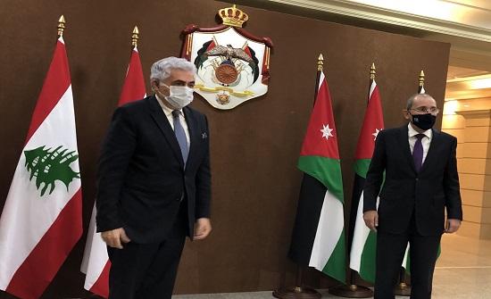 الصفدي  : نسعى لحل سياسى للأزمة السورية يحفظ وحدة البلاد