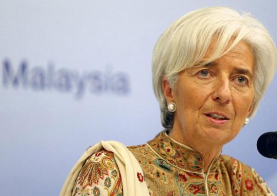 لاغارد تتوقع أن يتلاشى التضخم في منطقة اليورو العام المقبل
