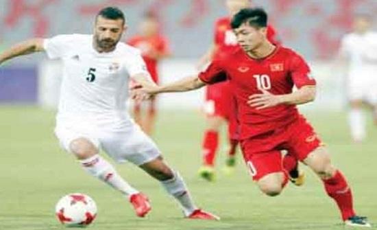 المنتخب الوطني لكرة القدم يتعادل مع فيتنام
