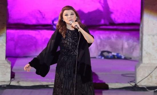 ماجدة الرومي تشكر الأردن على دعمها لبنان