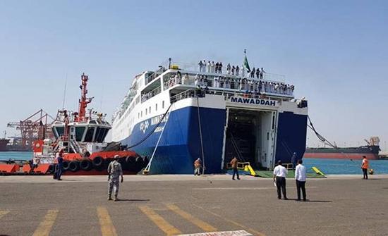 انطلاق أول رحلة بحرية بين الأردن ومصر