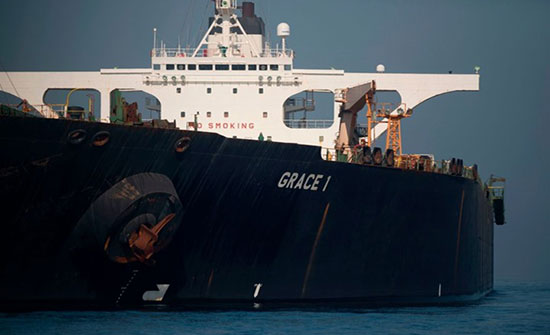 واشنطن تدرج ناقلة النفط الإيرانية أدريان داريا1 على قائمتها السوداء