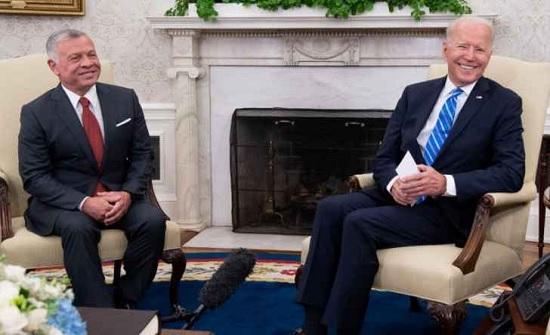 الملك: أسعدني اللقاء مرة أخرى بصديقي العزيز الرئيس بايدن