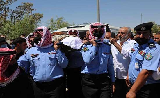 الامن العام تشيع جثمان فقيدها العميد محمود عواد لمثواه الاخير