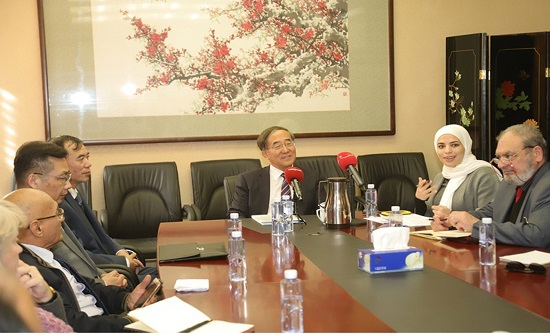 السفير ويفانغ: الصين ثالث أكبر شريك تجاري للأردن