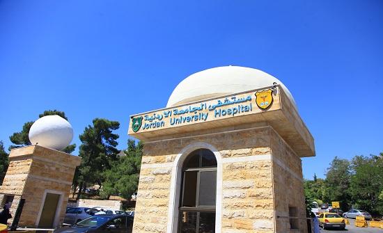 مستشفى الجامعة يشترط إجراء فحص كورونا لإدخال المرضى والمرافقين